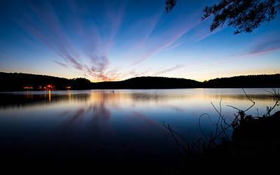 Photograph - Cedar Lake At Night by Nathan Hillis