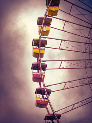 Photograph - Cedar Point - Giant Wheel by Shawna Rowe