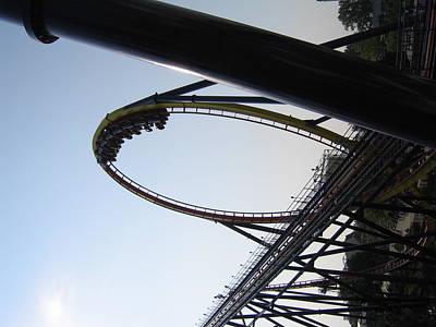 Mantis Photograph - Cedar Point - Mantis - 12126 by DC Photographer
