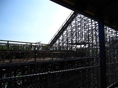 Cedar Point - Mean Streak - 12121 Print by DC Photographer