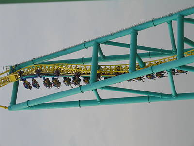 Cedar Point - Wicked Twister - 12125 Art Print