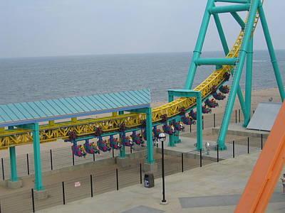 Cedar Point - Wicked Twister - 12126 Art Print by DC Photographer