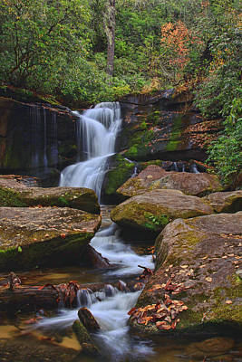 Photograph - Cedar Rock Falls by Shari Jardina