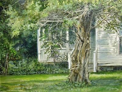Painting - Cedar Tree by William Brody