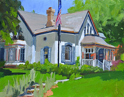 Painting - Cedarburg Historic Home by Anthony Sell