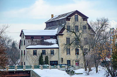 Cedarburg Mill Art Print