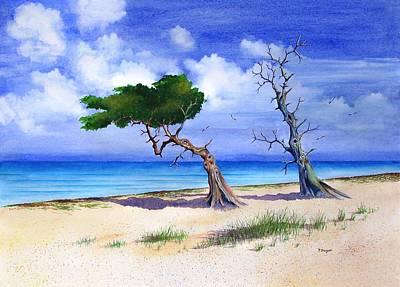 Cedars Last Stand Art Print