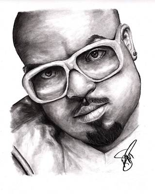 Drawing - Cee Lo Green by Rosalinda Markle