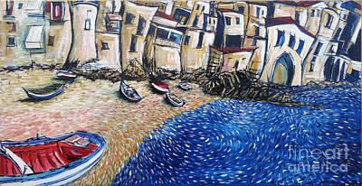 Sicily Painting - Cefalu 1 by Jeffrey Williams