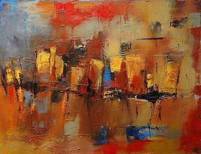 Painting - Cefalu by Elise Palmigiani