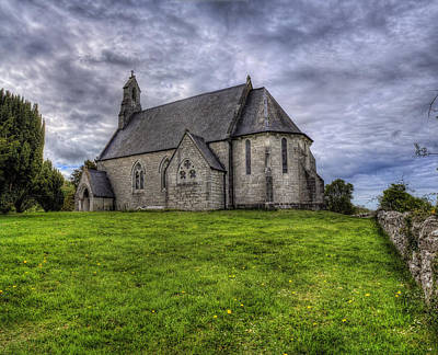 Cefn Meiriadog Parish Church Art Print by Ian Mitchell