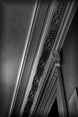 Photograph - Ceiling Detail The Smithsonian by Nadalyn Larsen