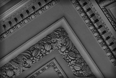 Photograph - Ceiling Detail The Whitney by Nadalyn Larsen