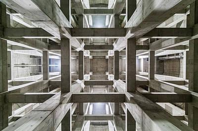 Maze Photograph - Ceiling by Kobayashi Tetsurou