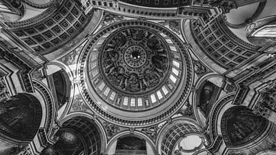 England Photograph - Ceiling by Kristen Meister