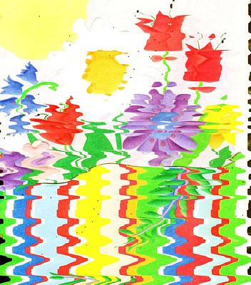 Celebrate And Vibrate Art Print