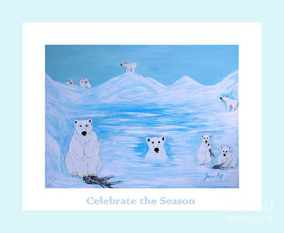 Painting - Celebrate The Season by Oksana Semenchenko