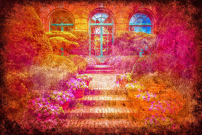 Pathway Digital Art - Celebrating Beauty by Francine Collier