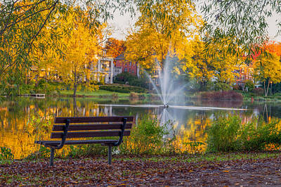 Stratford Photograph - Celebrating Fall  by Garvin Hunter
