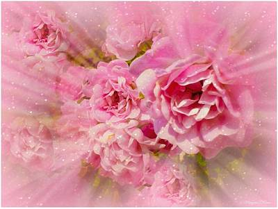 Photograph - Celebrating Friendship With Roses #1 by Maryann  DAmico