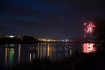 Photograph - Celebrating Independence Day On The Susquehanna by Gene Walls