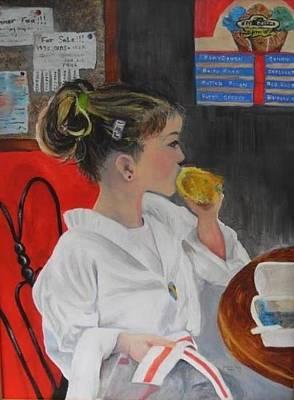 Celebrating The Red Belt -- Abigail Art Print