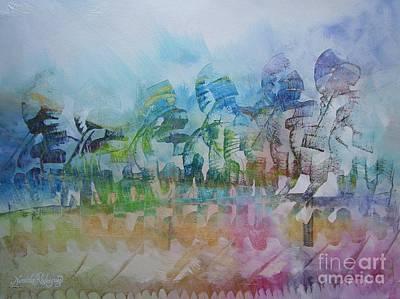 Celebrating Victory Art Print by Nereida Rodriguez