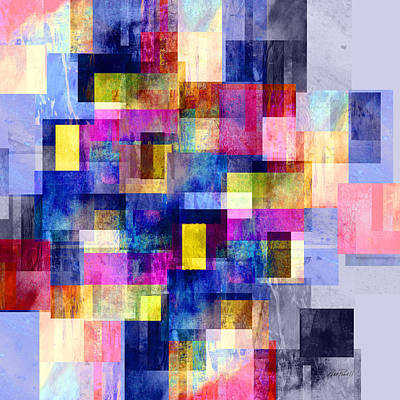Digital Art - Celebration - Abstract Art by Ann Powell
