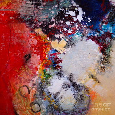 Impressionist Mixed Media - Celebration In The Air by Lisa Schafer