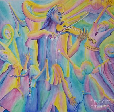 Painting - Celebration by Jaswant Khalsa