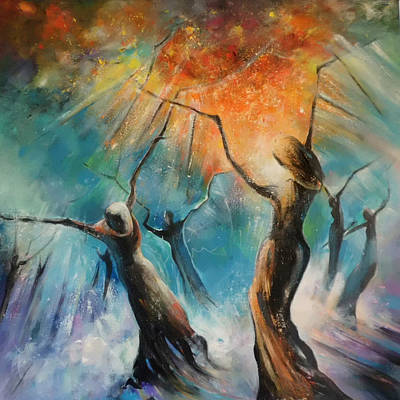 Painting - Celebration Of Life 02 by Miki De Goodaboom