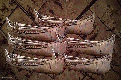 Time Photograph - Celebration Of The Birch Bark Canoe by LeeAnn McLaneGoetz McLaneGoetzStudioLLCcom