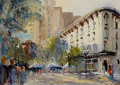 Painting - Celebration On The Grand by Sandra Strohschein