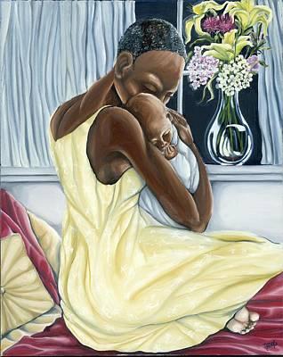 Jamaican Painting - Instinctual by Rhonda Falls