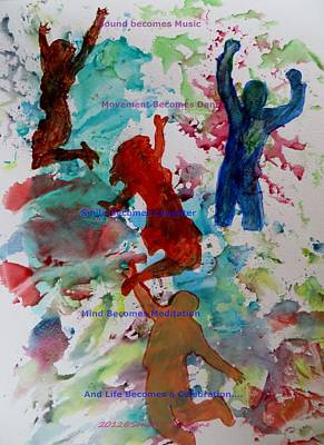 Foe Painting - Celebrations by Sonali Gangane