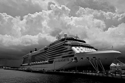 Photograph - Celebrity Silhouette by Eric Tressler