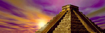 Mayan Photograph - Celestial Apex by Panoramic Images