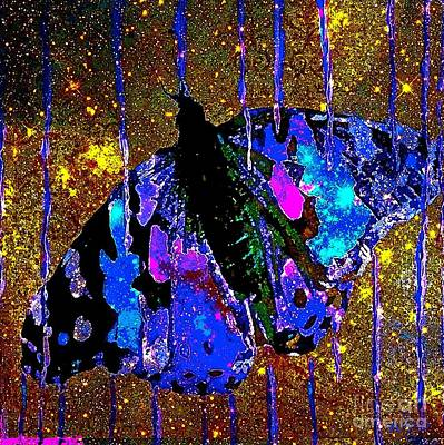 Painting - Celestial Butterfly by Saundra Myles