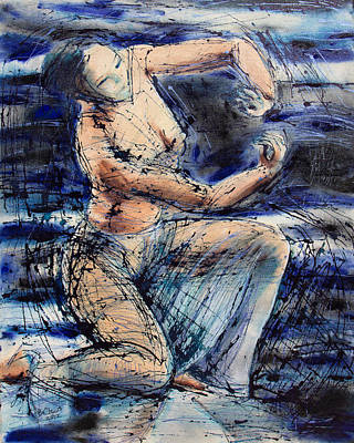 Celestial Dancer Art Print by Brenda Clews