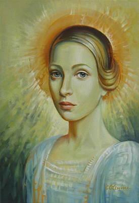 Celestial Art Print by Elena Oleniuc