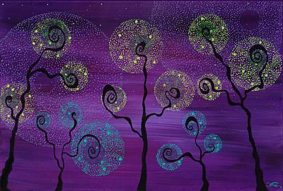 Painting - Celestial Garden by Joel Tesch