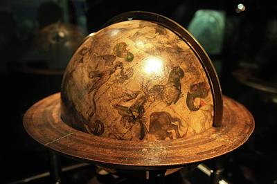 Constellations Photograph - Celestial Globe by Detlev Van Ravenswaay