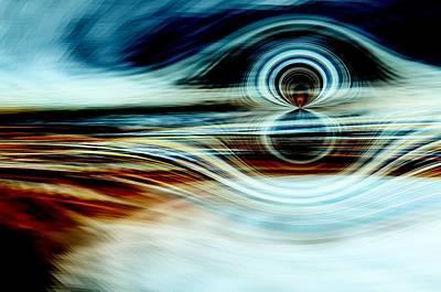 Timeless Mixed Media - Celestial Horizon 1 by Tom Druin