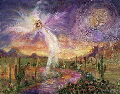 Celestial Messenger Art Print