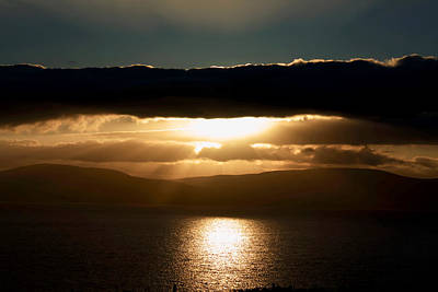 Irish Seascape Photograph - Celestial Sky  by Aidan Moran