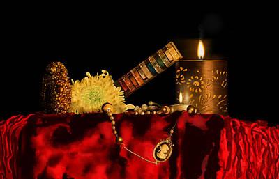 Digital Art - Celestial Solitude by Ankeeta Bansal