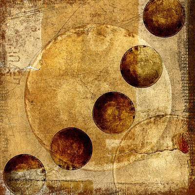 Montage Photograph - Celestial Spheres by Carol Leigh