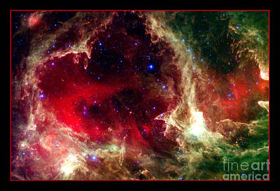 Photograph - Celestial Valentine Nasa by Rose Santuci-Sofranko