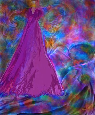 Etheric Digital Art - Celestial Wisdom by Paula Majeski