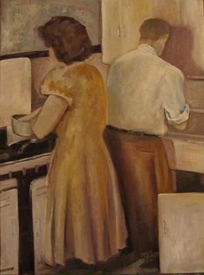 Celia And Peter Art Print